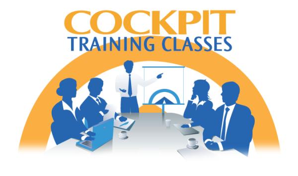 Cockpit Training Classes!